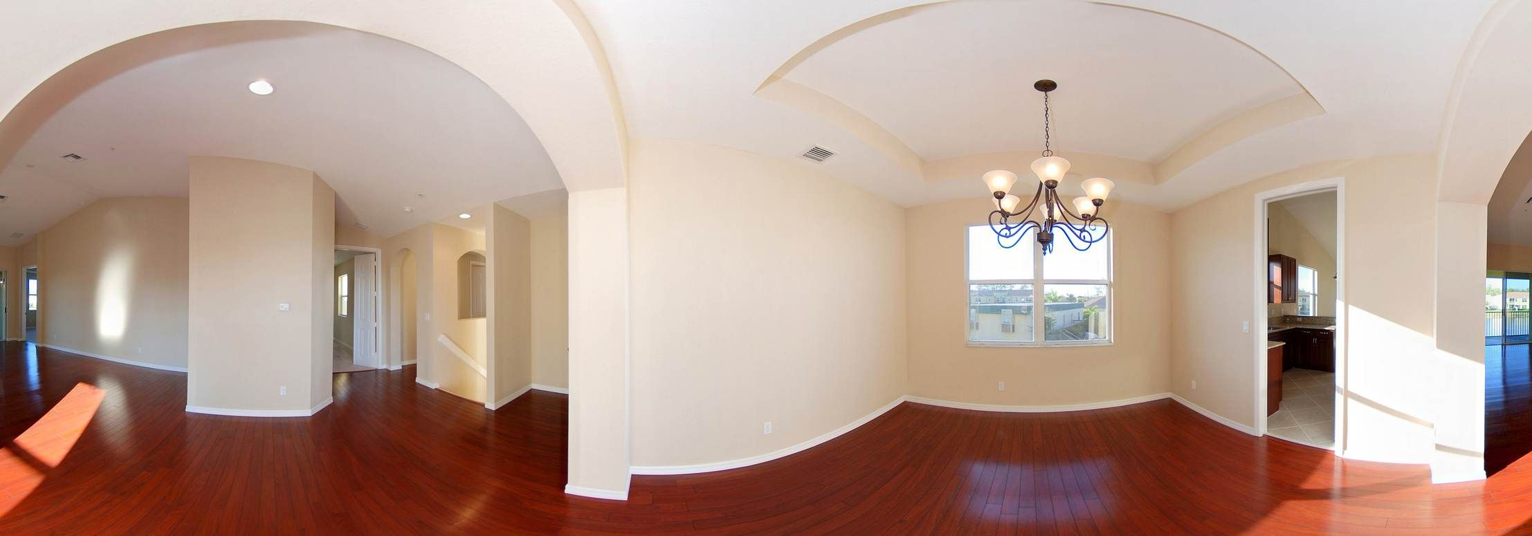 Dinning Room, Great Room & Foyer
