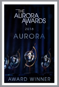 Aurora Award Winner Stamp